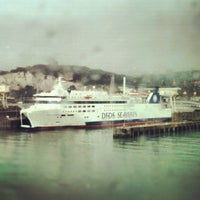 Photo taken at Port of Dover Ferry Terminal by Natthanit R. on 5/1/2012