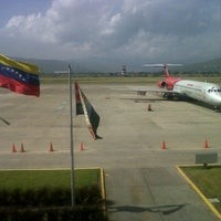 Photo taken at Aeropuerto Internacional Jacinto Lara (BRM) by Annigabriela P. on 7/30/2012