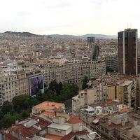 Photo taken at Meliá Barcelona Sarrià by Anjan S. on 6/3/2012
