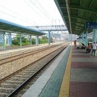 Photo taken at 왜관역 by RJ M. on 7/4/2012