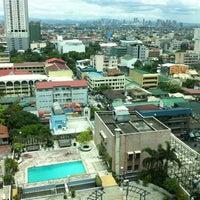 Photo taken at Pan Pacific Manila by Armand-Joyce A. on 4/23/2012