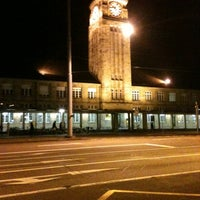 Photo taken at Basel Baden Railway Station by Chalo S. on 2/29/2012