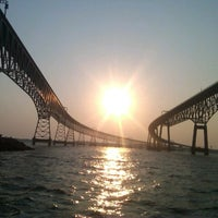 Photo taken at Chesapeake Bay Bridge by David F. on 7/17/2012