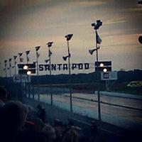 Photo taken at Santa Pod Raceway by Jason C. on 9/1/2012