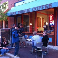 Photo taken at Park Avenue Coffee by Laura L. on 5/9/2012