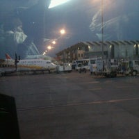 Photo taken at Gate #7 by Gautham K. on 3/21/2012