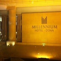 Photo taken at Millennium Hotel Doha by George A. on 5/19/2012