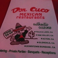 Photo taken at Don Cuco Mexican Restaurant by Lindsay G. on 5/5/2012