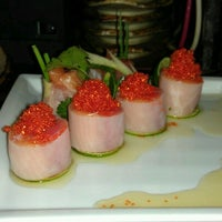 Photo taken at Musashino Sushi Dokoro by Yolande Y. on 6/19/2012