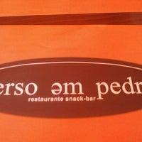 Photo taken at Verso em Pedra by Gustavo C. on 5/10/2012