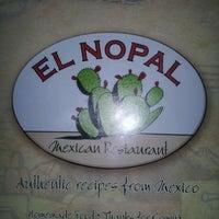 Photo taken at El Nopal Mexican Restaurant by Rodney J. on 4/5/2012