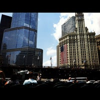 Foto tomada en Chicago Architecture Foundation River Cruise  por Thomas S. el 7/7/2012