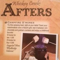 Photo taken at Whiskey Creek Wood Fire Grill by Sebine on 6/25/2012