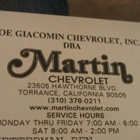 ... Photo Taken At Martin Chevrolet By Mariana M. On 7/28/2012 ...