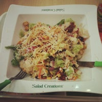 Photo taken at Salad Creations by Amanda A. on 5/28/2012