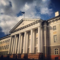 Photo taken at University of Tartu main building by Jaana M. on 7/31/2012