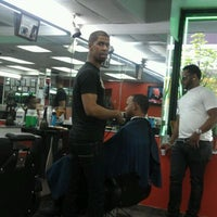 Photo taken at Diaz Barbershop by Julio C. on 4/16/2012