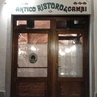 Foto scattata a All'Antico Ristoro Di' Cambi da Simone C. il 9/5/2012