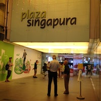 Photo taken at Plaza Singapura by John Raul II J. on 3/4/2012