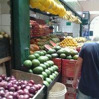 Photo taken at Mercado São Sebastião by Maya Miyuki N. on 7/12/2012