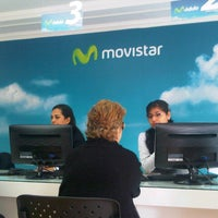 Photo taken at Movistar (Movistore) by Jorge C. on 7/10/2012