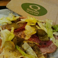 Photo taken at Quiznos by JO 王. on 5/21/2012