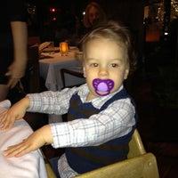 Photo taken at Fraiche Restaurant by David G. on 2/19/2012