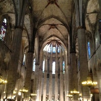 Photo taken at Basílica de Santa Maria del Mar by Zhanara I. on 7/8/2012