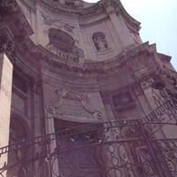 Photo taken at Chiesa di San Placido by Ulyana K. on 7/28/2012
