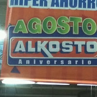 Photo taken at Alkosto by Mauricio G. on 8/13/2012