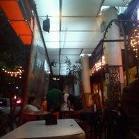 Photo taken at La Azteca Churros & Café by LeoLuna on 3/1/2012