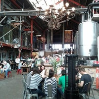 Photo taken at Little Creatures Brewery by OZan G. on 8/4/2012