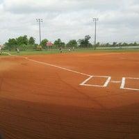 Photo taken at Houston Sportplex by Michael Allen T. on 4/15/2012