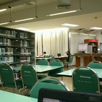 Photo taken at Library by เวทชัย ท. on 2/4/2012