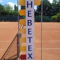 Photo taken at Tennisvereniging Denekamp by Hermen B. on 7/22/2012