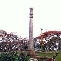 Photo taken at Hanging Gardens by Harshul N. on 5/28/2012