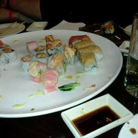 Photo taken at Sushi X: All You Can Eat Sushi by Evan V. on 2/4/2012