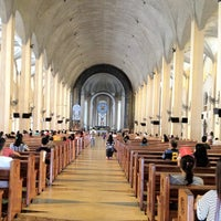 Photo taken at National Shrine of Our Mother of Perpetual Help (Redemptorist Church) by HolyKalag S. on 6/8/2012