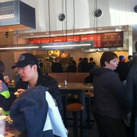 Photo taken at Chipotle Mexican Grill by Sean G. on 4/6/2012