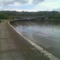 Photo taken at Large Swing Bridge by Michelle W. on 5/6/2012