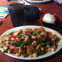 Photo taken at bd's Mongolian Grill by Sue N. on 4/15/2012