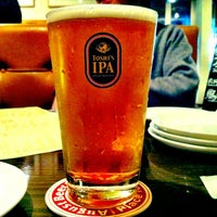 Photo taken at August Beer Club by masaru s. on 4/24/2012