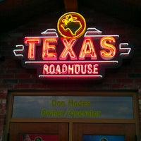 Photo taken at Texas Roadhouse by Van S. on 3/28/2012