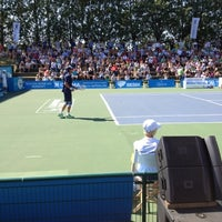 Photo taken at Optima Open by Laurent P. on 8/18/2012