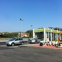 Photo taken at Distributore eni agip by Luca S. on 3/28/2012