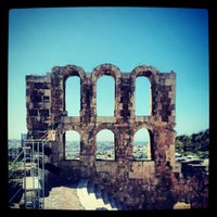 Photo taken at Herod Atticus Odeon by Savvas on 8/22/2012