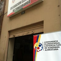 Photo taken at Delegacion Provincial Electoral by Diego V. on 2/24/2012