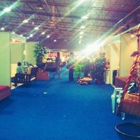 Photo taken at Exhibitions @ Palace Ground by Vikas K. on 4/16/2012