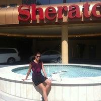 Photo taken at Sheraton Pasadena Hotel by Maria S. on 3/8/2012