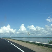 Photo taken at Courtney Campbell Causeway by Cyndee H. on 8/11/2012